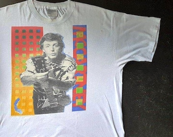 Vintage 1989 Paul McCartney World Tour T Shirt