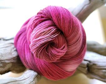 Hand Dyed Sock Yarn - Kiss me like you mean it