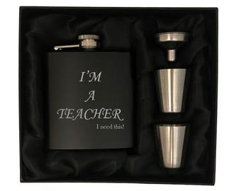 Teacher Gift Box - Gift for Teacher - I'm A Teacher I need this - Teacher's Gift - Teachers Gifts - Gift for Teachers - Unique Teacher Gift