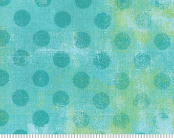 """108"""" Wide Grunge Hits The Spot Pool Quilt Back - 108"""" Wide Backing Fabric by BasicGrey for Moda Fabrics - 100% Cotton"""