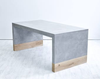 BLOC concrete dining table