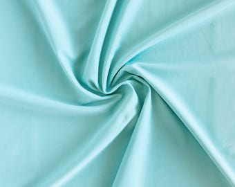 NEW Mint Swimwear Fabric, Nylon Spandex Matte Tricot  4 Way Stretch