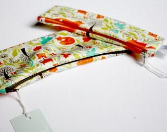 Waterproof zip - bag snack - pencil case - case vanity case - drugs - washable sanitary napkin