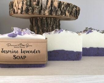 Jasmine Lavender Soap - Bar Soap - Natural Soap - Handmade Soap