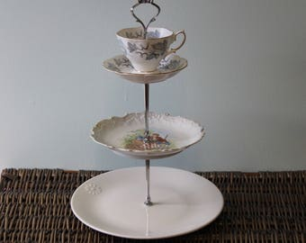 Tiered Cake Stand Etsy