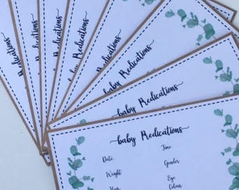 Baby prediction cards/ Baby shower games/ Baby shower personalised/ New baby/ Baby shower trivia