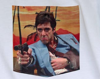 Scarface - Tony Montana - Pocket T-Shirt