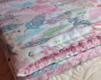 2 Burp cloths - Ready to ship