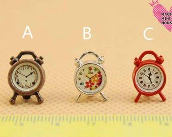Dolls House Miniature Clock