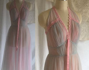 Vintage 1960's Nightgown by Luxite