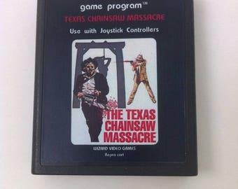 Atari 2600/7800 Video Game Cartridges - Texas Chainsaw Massacre