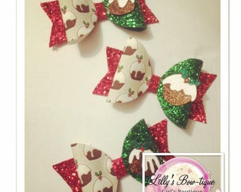 The Christmas Pudding Bow