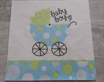 BABY THEMED PAPER NAPKIN