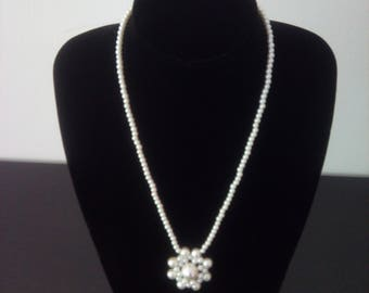 Long Pearl Necklace 6356