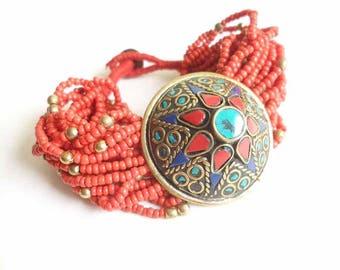 Tibetan Jewelry  Ethnic jewelry Bracelet