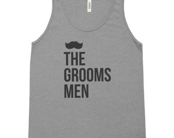 Groomsmen Tank Top, bachelor party, bachelor party shirt, best man shirt, wedding party shirts, grooms shirt, bachelor party, groom tribe