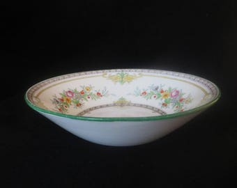 Minton Stoke On Trent Pottery Hand Painted Bowl 'Stanwood' Design 1920's