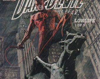 "Marvel Knight ""Daredevil"" Comic Book Low Life 1 of 5"