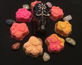 Paw Print Bath Bombs | Mini Bath Bombs | Mini Bath Fizzy | Small Bath Bombs | Bath Fizzies | Paw Prints | Dog Bath Bombs | Cat Bath Bombs