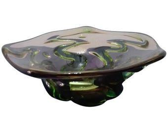 centerpiece in Murano glass