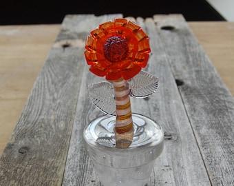Garpota Glass Flower
