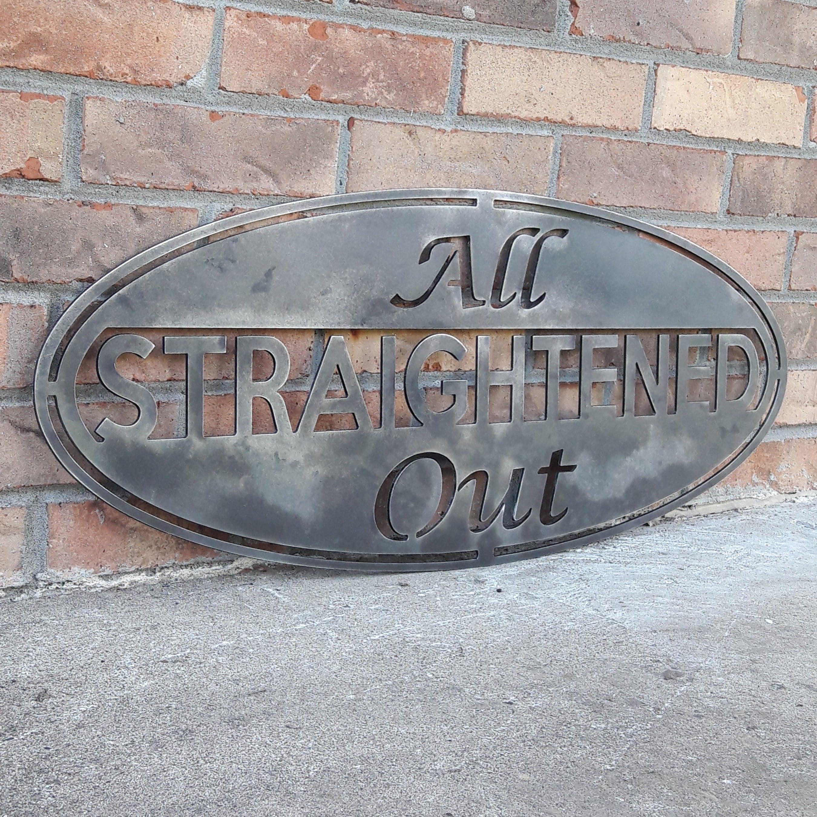Custom Metal Sign Personalized Metal Art