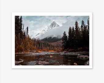 Scandinavian Print, Nature Lover Gift, Landscape Wall Art, Photography  Prints, Mountain Print