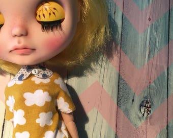 Set: shirt & collar  for Blythe doll