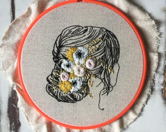 Chloe Contemporary Hand Embroidery Pattern Digital Download