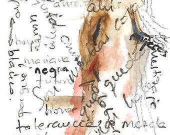 "Graphic work: series ""Memories"""
