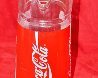 Coca cola vintage glass decanter