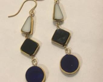 Vintage Glass Earrings