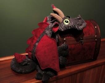 Plush Dragon Stuffed Cuddly Dragon Toy