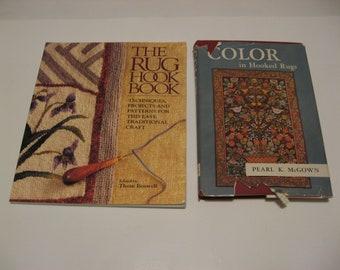 Rug hooking books, rug hooking wool, rug hooking