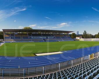 Jena Stadion – Poster 120 x 50 cm – High-quality FineArtPrint
