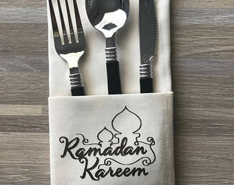 Ramadan Dinner Napkins Set of 8