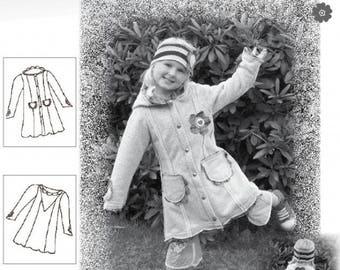 Farbenmix pattern Linda fairy jacket
