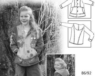 Farbenmix pattern Orella summer jacket