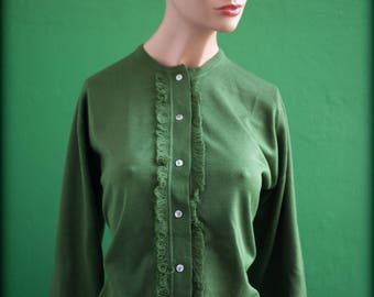 Green sleeves sweater long size 38 fr (S)
