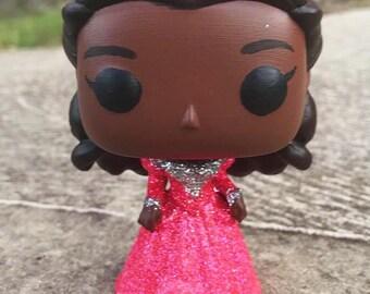 Custom Angelica Schuyler - Hamilton Glitter Funko Pop