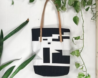 QUILTED TOTE 004