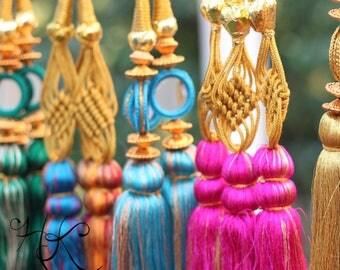 Traditional Punjabi Indian Parandi Paranda Hair Accessory Braid