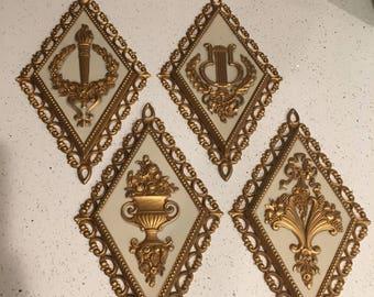 HOMCO Diamond wall plaques