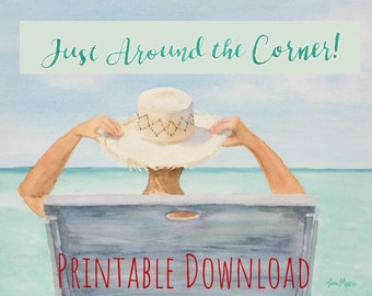 JW Download Just Around the Corner! Printable Tina Marie Collection