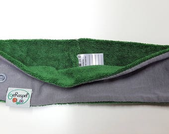 "Headband grey,green with ""Mixeeze"""