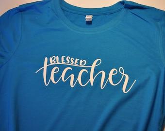 Blessed Teacher shirt