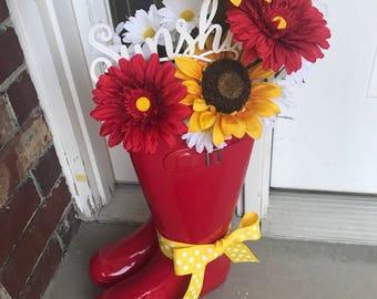 Sunshine Rain Boots