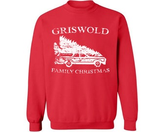 Griswold Family Christmas Sweatshirt Griswold Family Christmas Ugly Christmas Sweater For Men Women Holiday Sweatshirt Funny Xmas Party