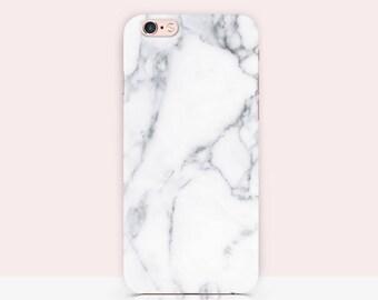 White Marble iPhone 7 Case stone imitation iPhone 6s Case White Marble - White Stone Texture - Minimal Phone case Tumblr Case 26