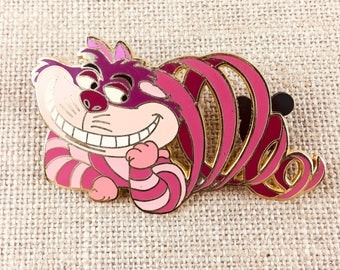 Disney Alice in Wonderland Cheshire Cat Invisible Jumbo Pin Limited Edition 500